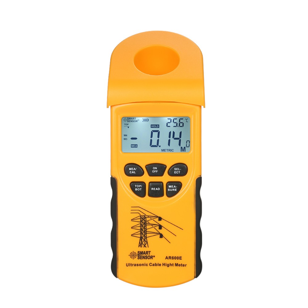 Tomtop - 32% OFF SMART SENSOR Professional Digital LCD Ultrasonic Cable Height Meter, Free Shipping $123.89