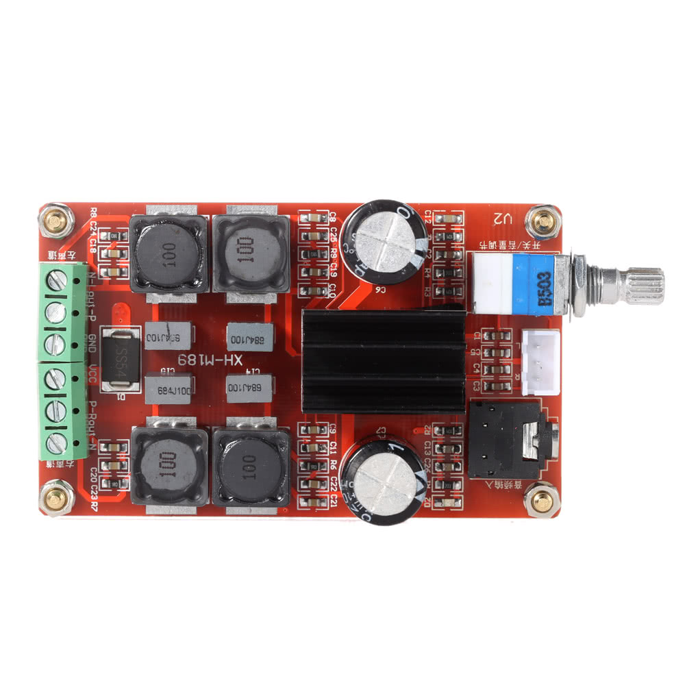 Best Tpa3116d2 250w Digital Power Amplifier Board Class D Dc12v 24v Classd Circuit Simulator Dual Channel Audio Stereo