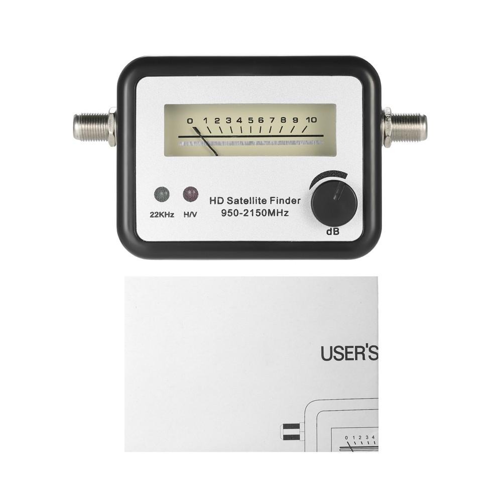 Satellite Signal Finder Satellite Finder Satellite Signal Meter Mini TV  Antenna Satellite Signal Finder Meter with Compass Sales Online - Tomtop