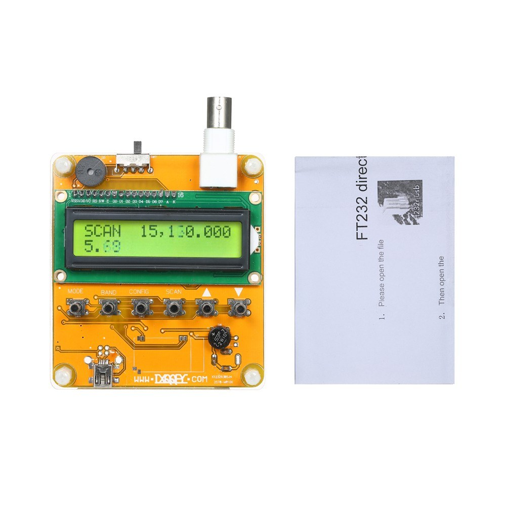 Digital Shortwave Antenna Analyzer Meter Tester