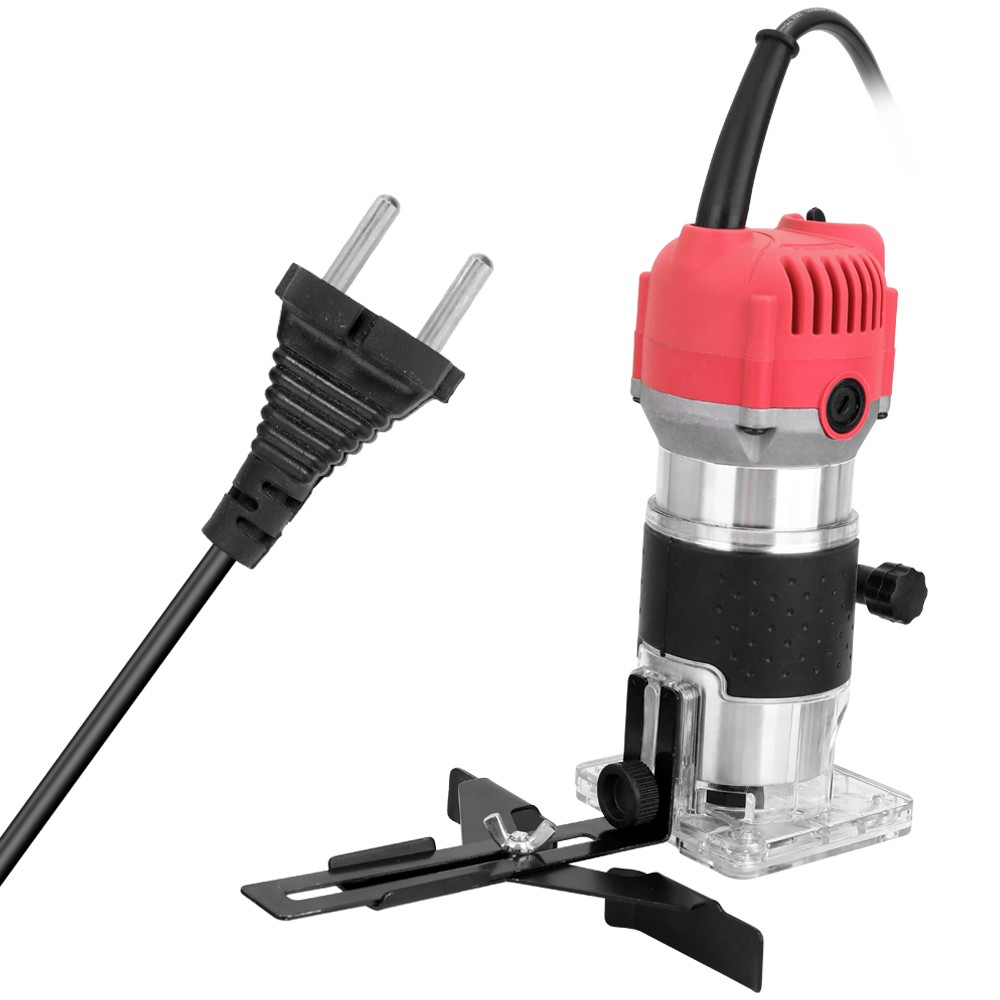Tomtop - [EU Warehouse] 45% OFF Woodworking Electric Trimming Machine, $32.99 (Inclusive of VAT)