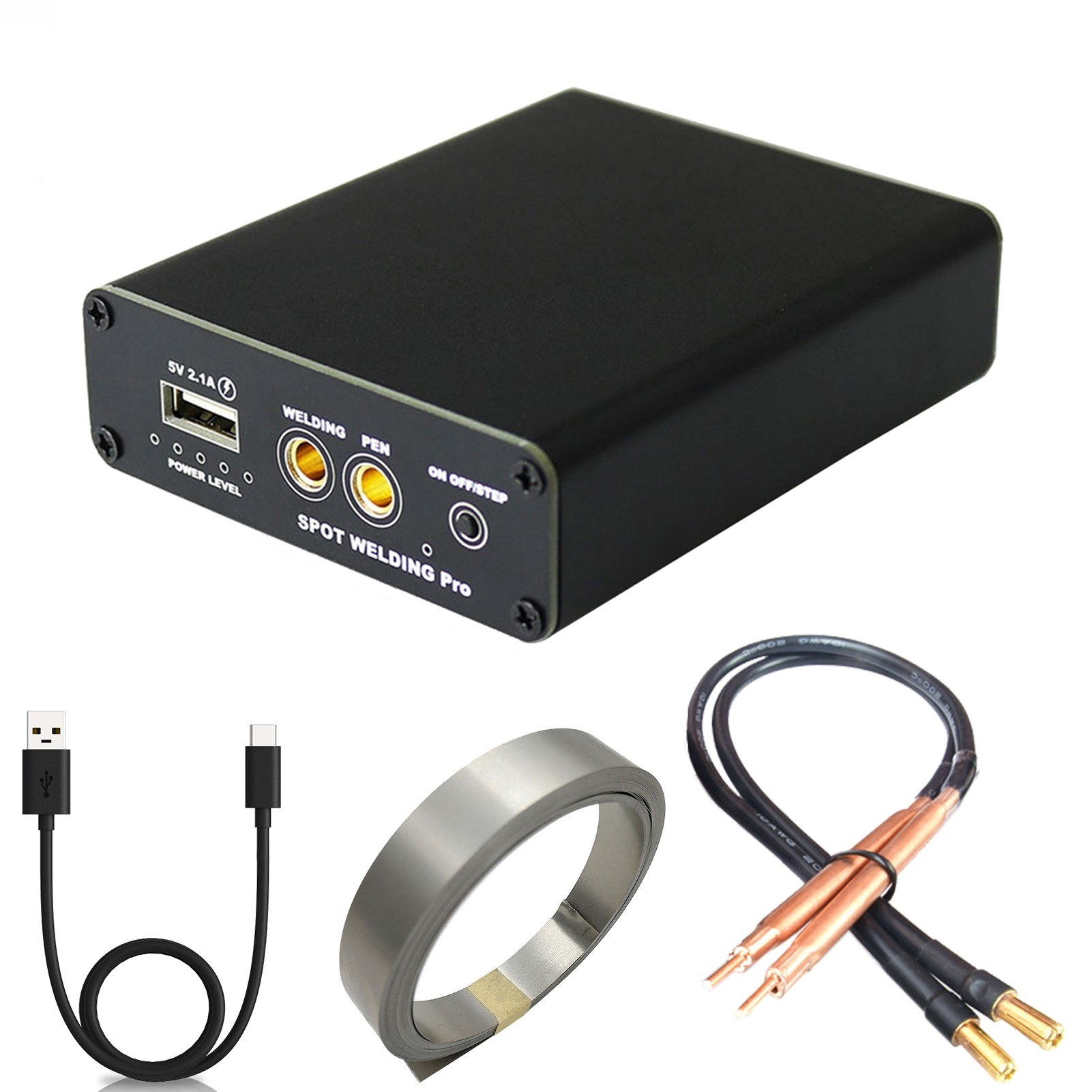 Tomtop - 34% OFF DIY Mini Spot Welder 5 Gears Adjustable Portable Handheld Spot Welding Machine, $39.99 (Inclusive of VAT)