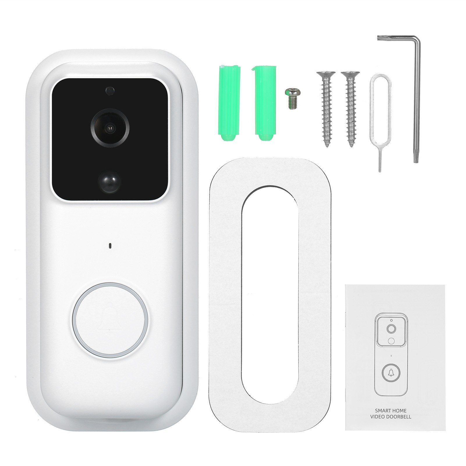 tomtop.com - 41% OFF Smart Video Doorbell Camera Door Bell, $54.99 (Inclusive of VAT)