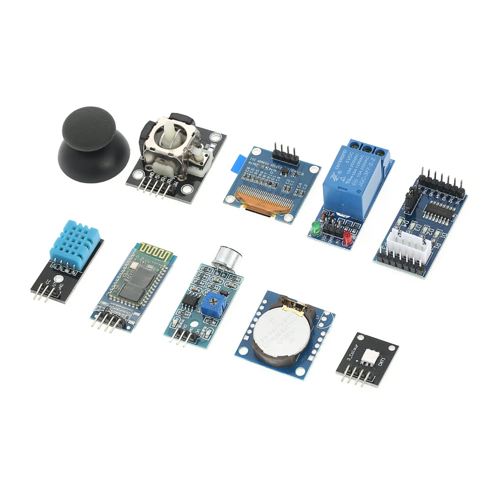 Ultimate Uno R3 Starter Kit For Arduino Beginners Learning Oled Spi Stepper Motor Wiring 5 Colorful Push Button Switch 1212mm Mini Switches 66mm 65 Jumper Wires 40 Female To Male Dupont Wire 1 Storage Box