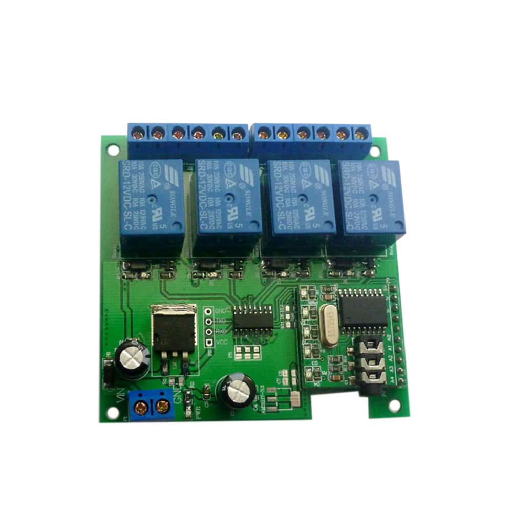 12v 4ch Audio Decoding Relay Dtmf Self Locking Interlock Delay Smart Micro Spdt 20 Amp Home Switch Sales Online Tomtop