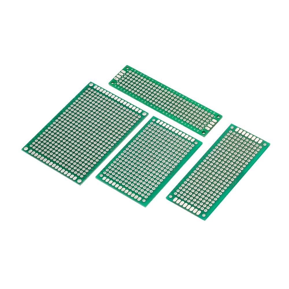 40pcs Double Side Prototype Pcb Board Universal Printed Circuit Doubleside Electronics Kit For Electronic Diy Project 28cm 37cm 46cm 57cm 4 Sizes