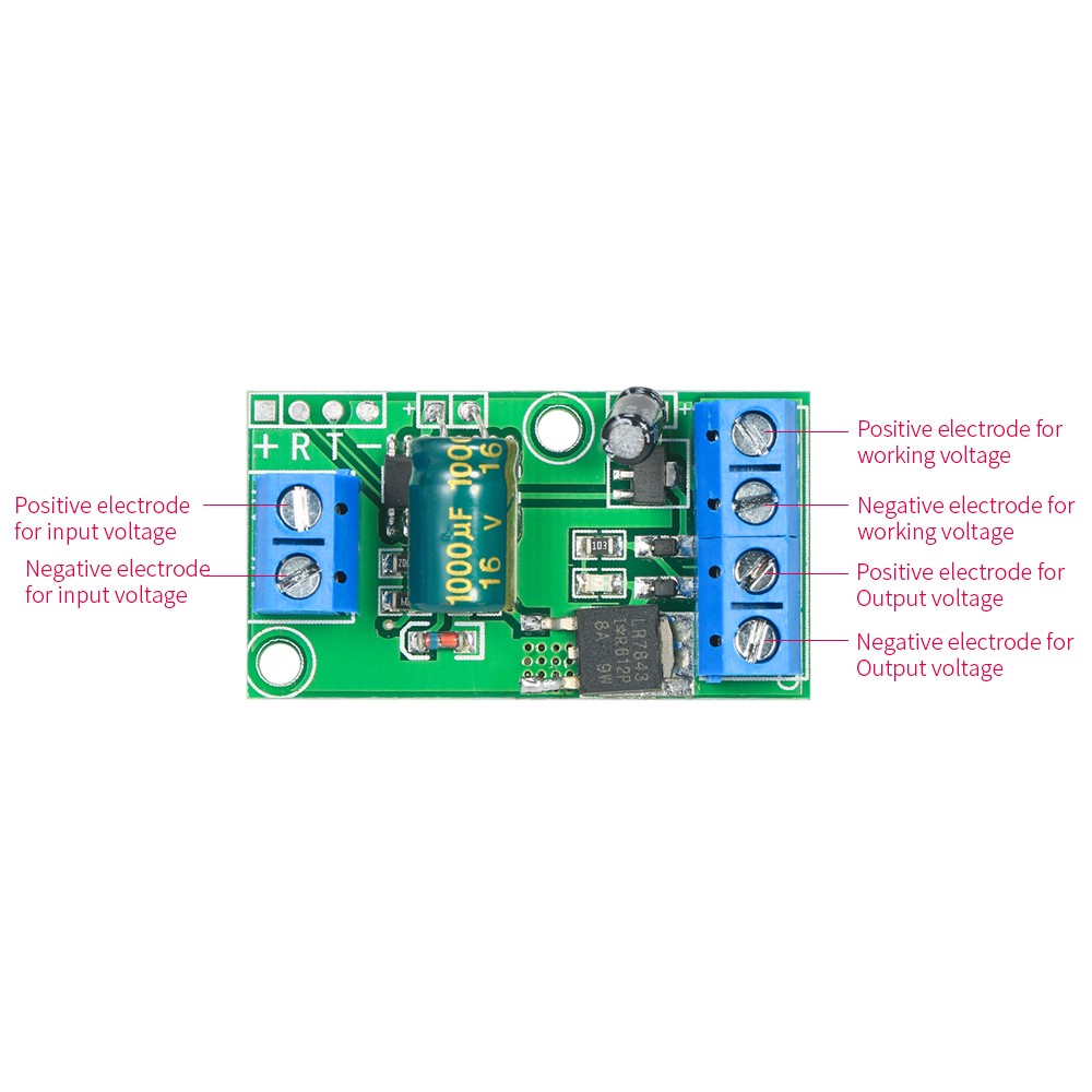 Mini Step Up Voltage Converter Module 05v To 010v 012v 024v Circuit Or A Negative Positive And Current Amplifier Board Boost With Pwm Signal