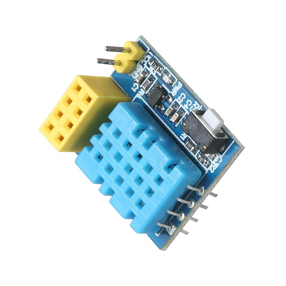ESP8266 DHT11 Temperature Humidity Sensor Module ESP-01S Serial Wireless  Transceiver Adapter Board for Arduino Sales Online blue - Tomtop