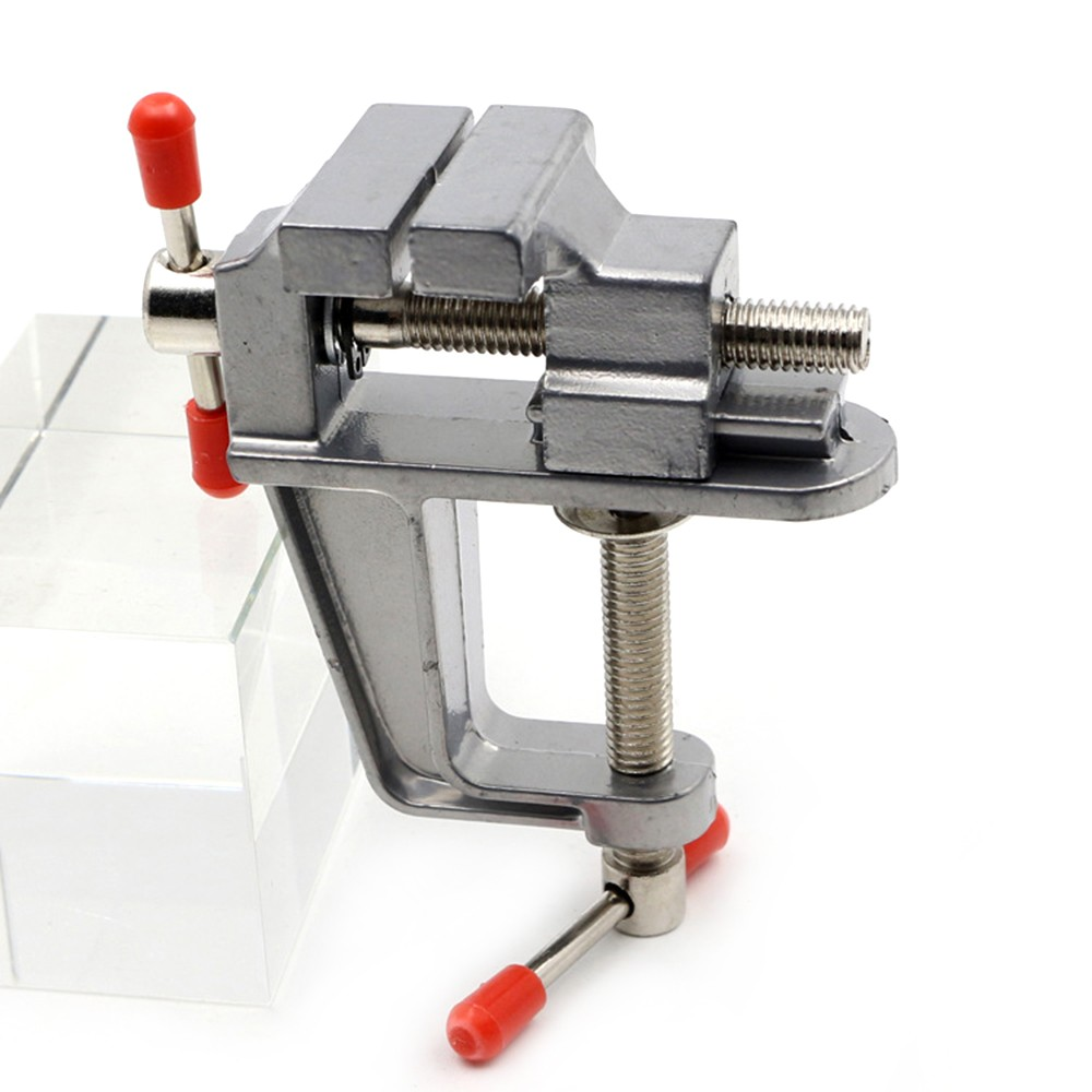 Aluminum Miniature Small Hobby Clamp On Table Multi-functional Mini Tool