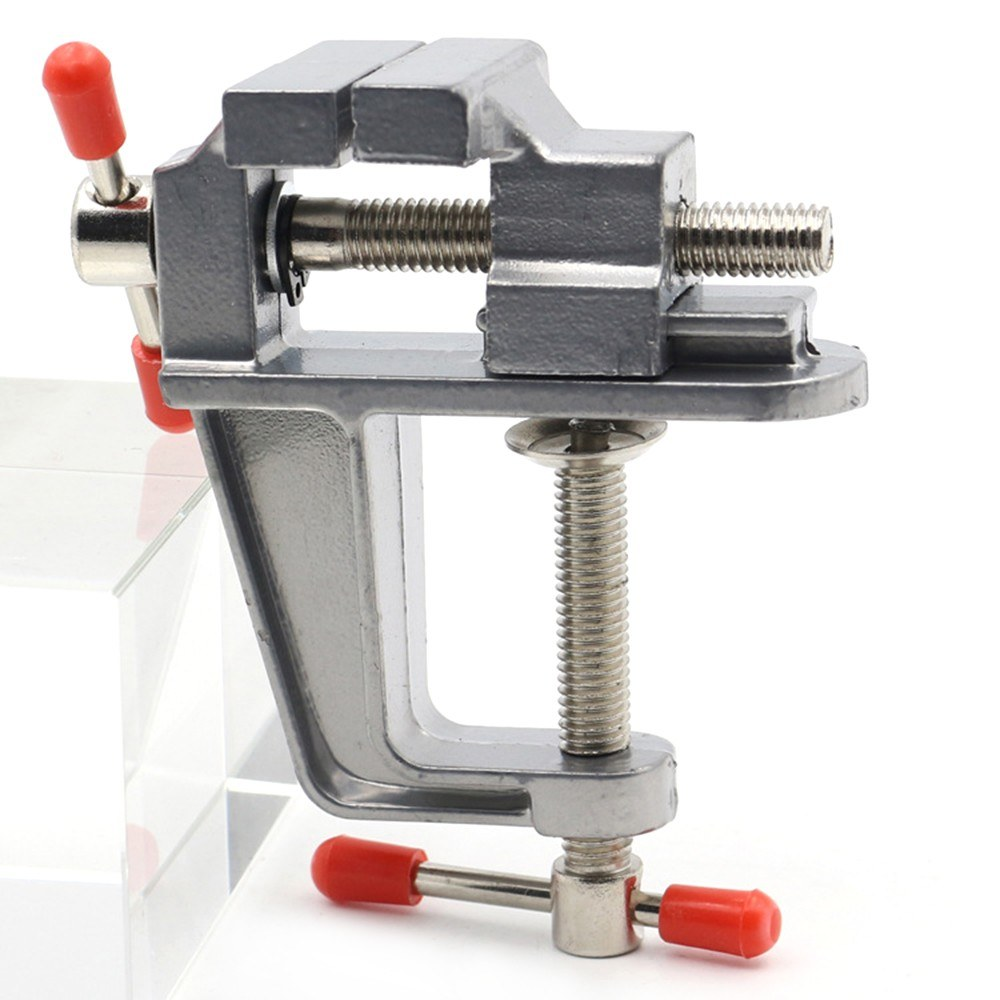 Aluminum Miniature Small Hobby Clamp On Table Multi-functional Mini Tool