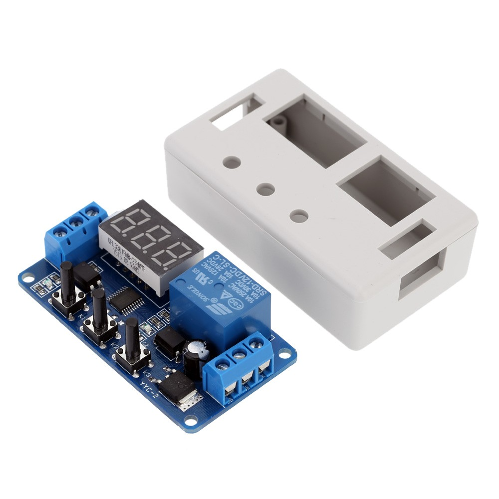 12v Led Automation Delay Timer Control Switch Relay Module With Case Related Links Electronic More Circuit