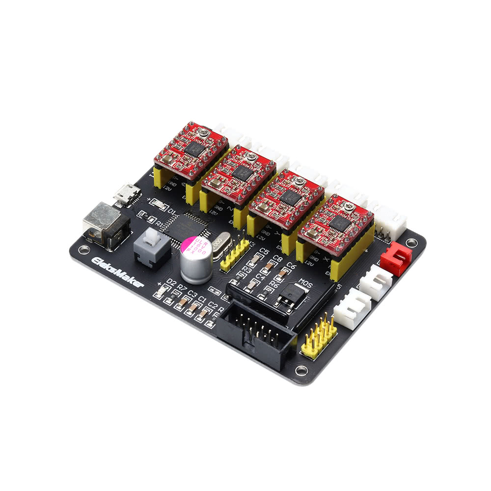 Eleksmaker Eleksivaxis Xyza 4 Axis Stepper Motor Driver Controller Electronics Circuit Application Practical Wifi Antenna Gtgt Mouse Over To Zoom In
