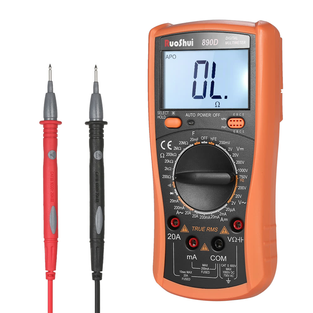 Best Ruoshui 1999 Counts True Rms Multi Functional Digital Sale Wholesale Multifunctional Circuit Tester Voltage Detector Pen Multimeter