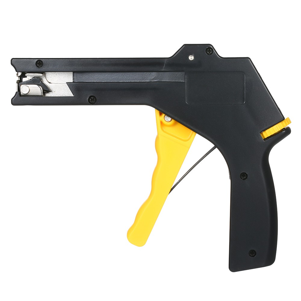 Zip Tie Gun >> 2 In 1 Cable Tie Gun 2 4 4 8mm Adjustable Fastening Cutting Cable Zip Tie Tool For Plastic Nylon Cable Tie Tool Tying Gun Pliers Sales Online Black