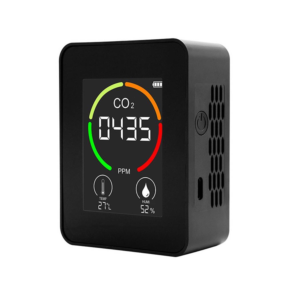 Tomtop - 49% OFF Indoor Portable CO2 Detector Multifunctional Thermohygrometer, $18.49 (Inclusive of VAT)
