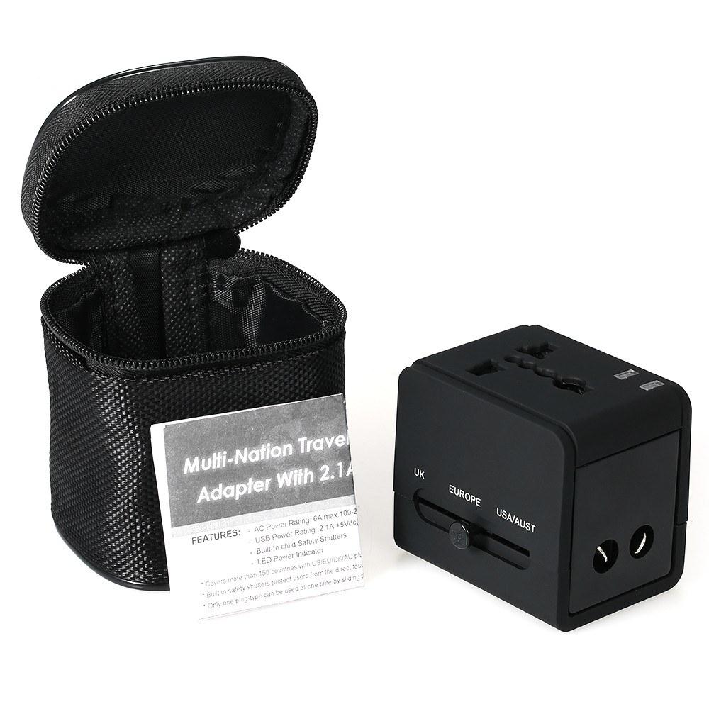 Chollazo Cargador USB y Adaptador de Viaje Universal por 6 euros (Oferta FLASH) 2 cargador viaje universal