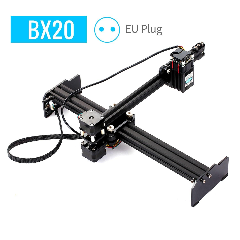 Tomtop - [EU Warehouse] 45% OFF 20W Laser Engraving Machine High Speed Mini Desktop Laser Engraver, $179.99 (Inclusive of VAT)