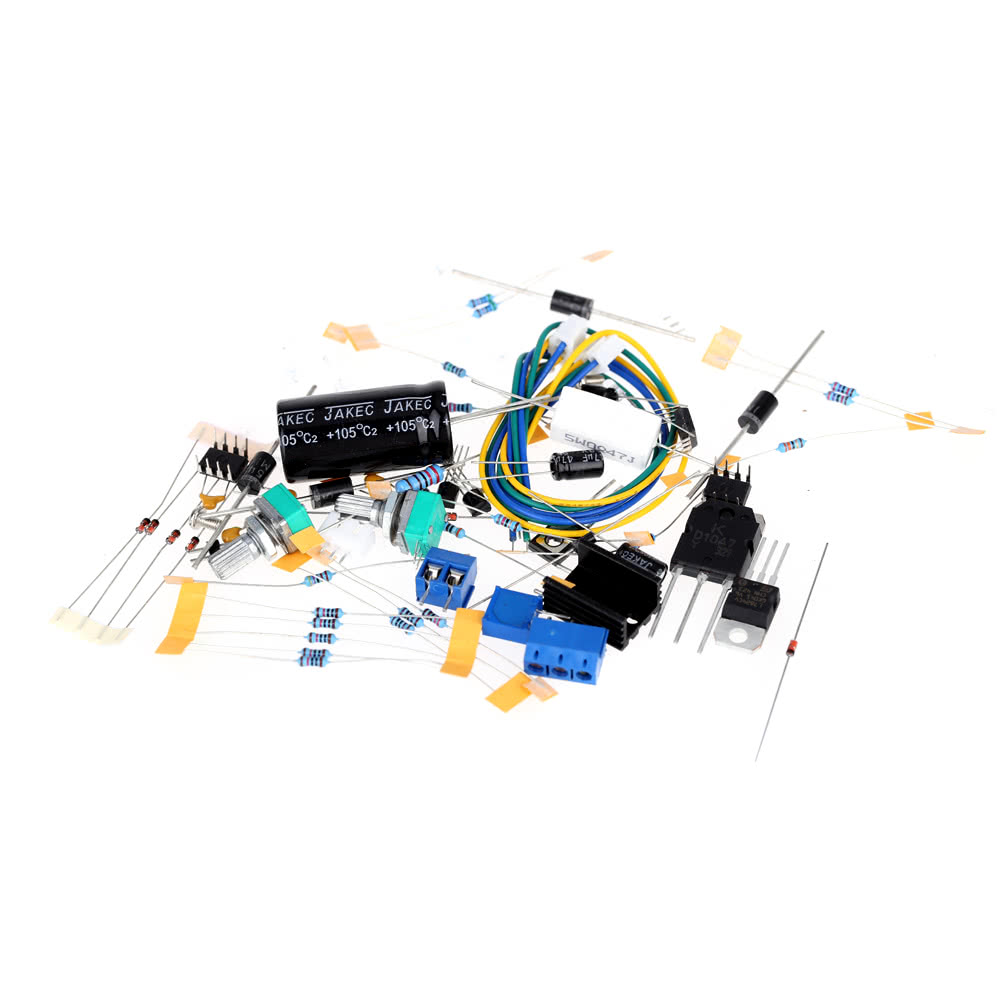 0 30v 2ma 3a Continuously Adjustable Dc Regulated Power Supply Diy 15a Variable Circuit Diagram Kit Short Current Limiting Protection Sales Online Black Tomtop