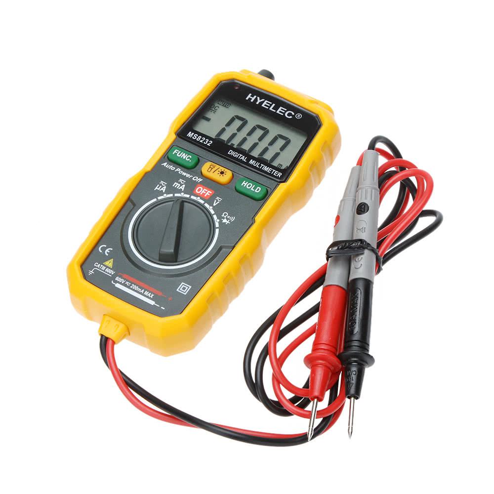 Who Makes Digital Multimeters : Peakmeter pm mini portable auto range data hold
