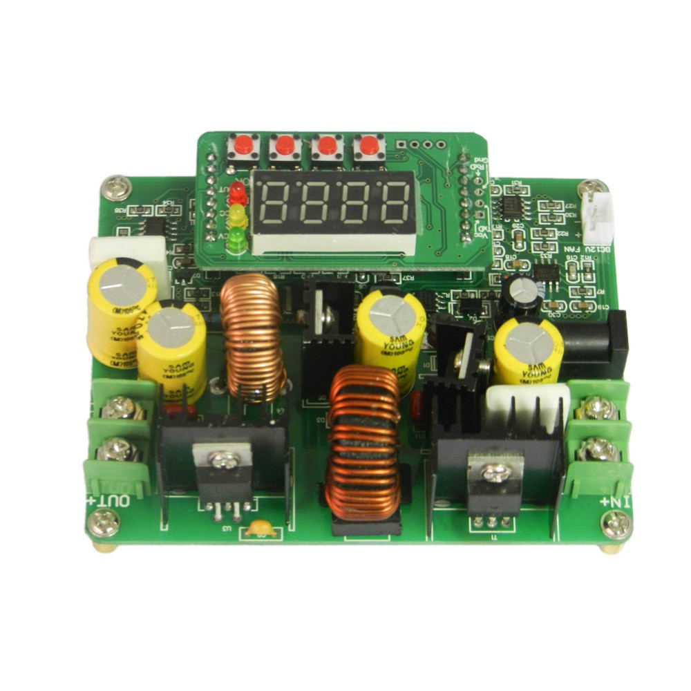 38v 6a Dc Digital Boost Buck Step Up Down Module Solar Semiconductors And Electronics In An Easy To Understand Charging Sales Online Black Tomtop