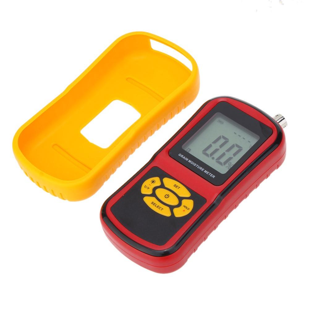 Messung Und Analyse Instrumente Smart Sensor Handheld Lcd Digitale Getreide Feuchtigkeit Meter Hygrometer Mit Mess Sonde Für Mais Weizen Reis Bean