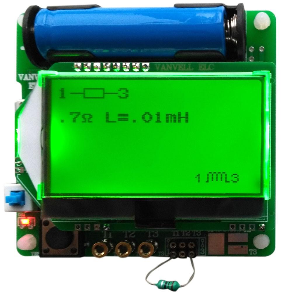 M328 Transistor Cobra Multi Funcional Probador Diodo Inductor Esr Led Circuito Basado De Transistores Lcr Capacmetro Con Interfaz Usb