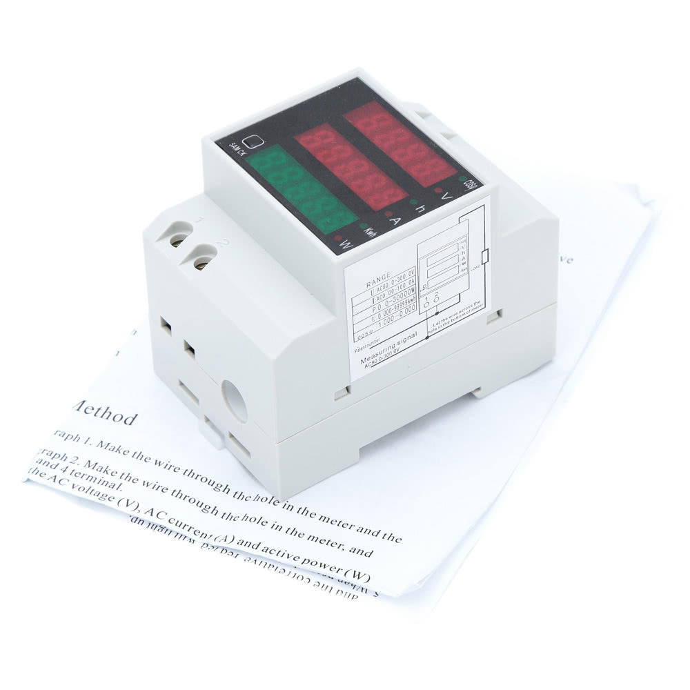 how to connect power factor meter