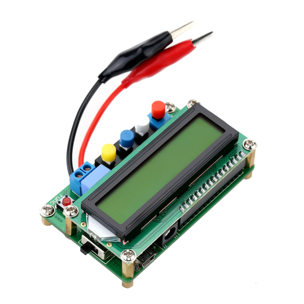 Lc100 A Digital Lcd High Precision Inductance Capacitance L C Meter Test Capacitor In Circuit Mini Usb Interface Sales Online Multi Colour Tomtop