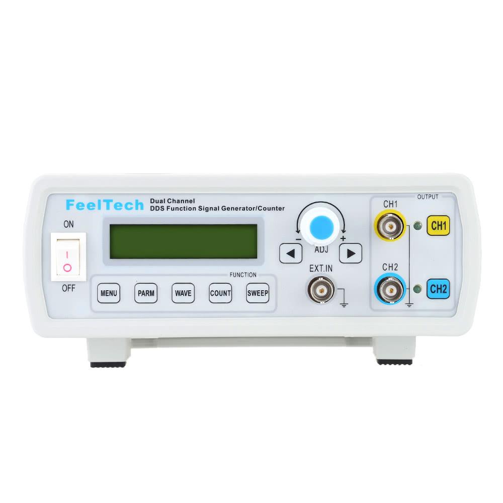 Digital Signal Generator : High precision digital dual channel dds function signal