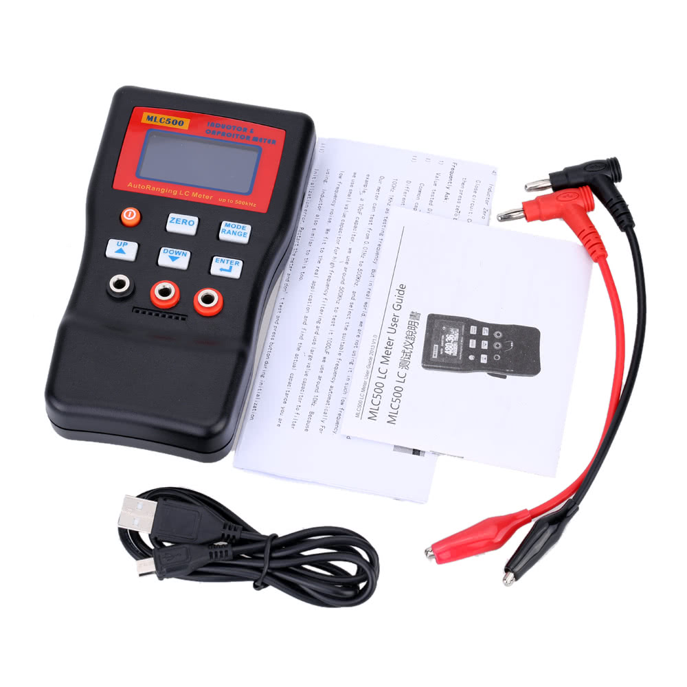 Mlc 500 High Precision Autoranging Lc Meter Professional Capacitance Inductance Circuit And Table Up To Khz