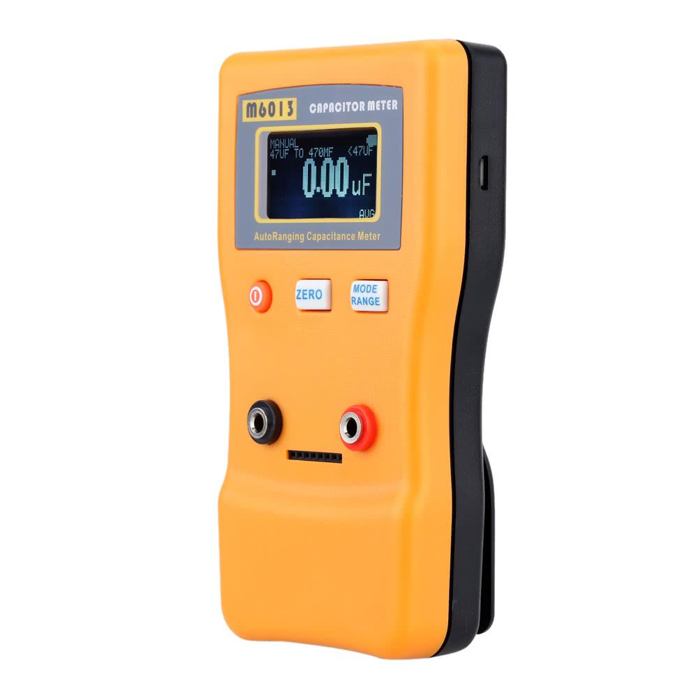 M6013 Esr High Precision Capacitor Meter Professional Measuring Capacitorcircuit Capacitance Resistance Circuit Tester Sales Online Black Orange Tomtop