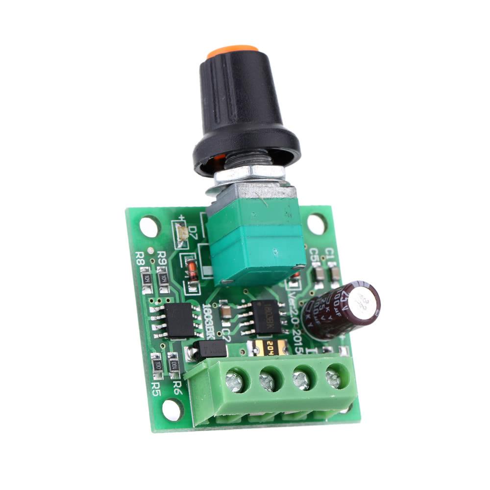 Low Voltage Dc Pwm Motor Speed Controller Module 18v 3v 5v 12v Control Circuit 2a