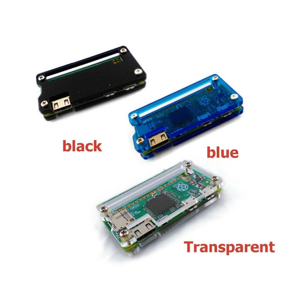 Black Raspberry Pi Acrylic Zero Case Shell Acrylic Case Protection Black Box L