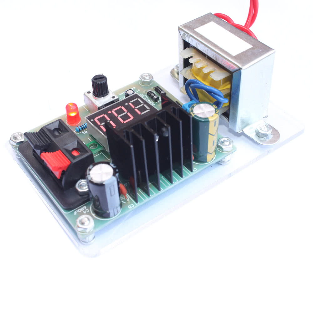 Lm317 125v 12v Continuously Adjustable Regulated Voltage Power 0 300v Variable High Supply Diy Kit With Transformer Sales Online Black Brwon Tomtop