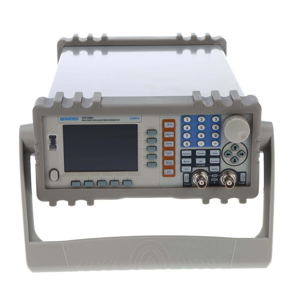 Gratten Atf20b 20mhz 100msa S Double Channel Dds Function Signal Generator Arbitrary Waveform