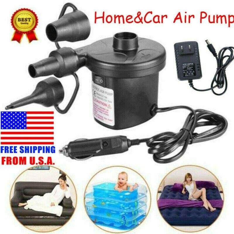 piscine gonflable JZK Pompe /à air /électrique rechargeable pour matelas gonflables pompe /électrique pour lit gonflable kayak canap/é lit balle de yoga bateau gonflable