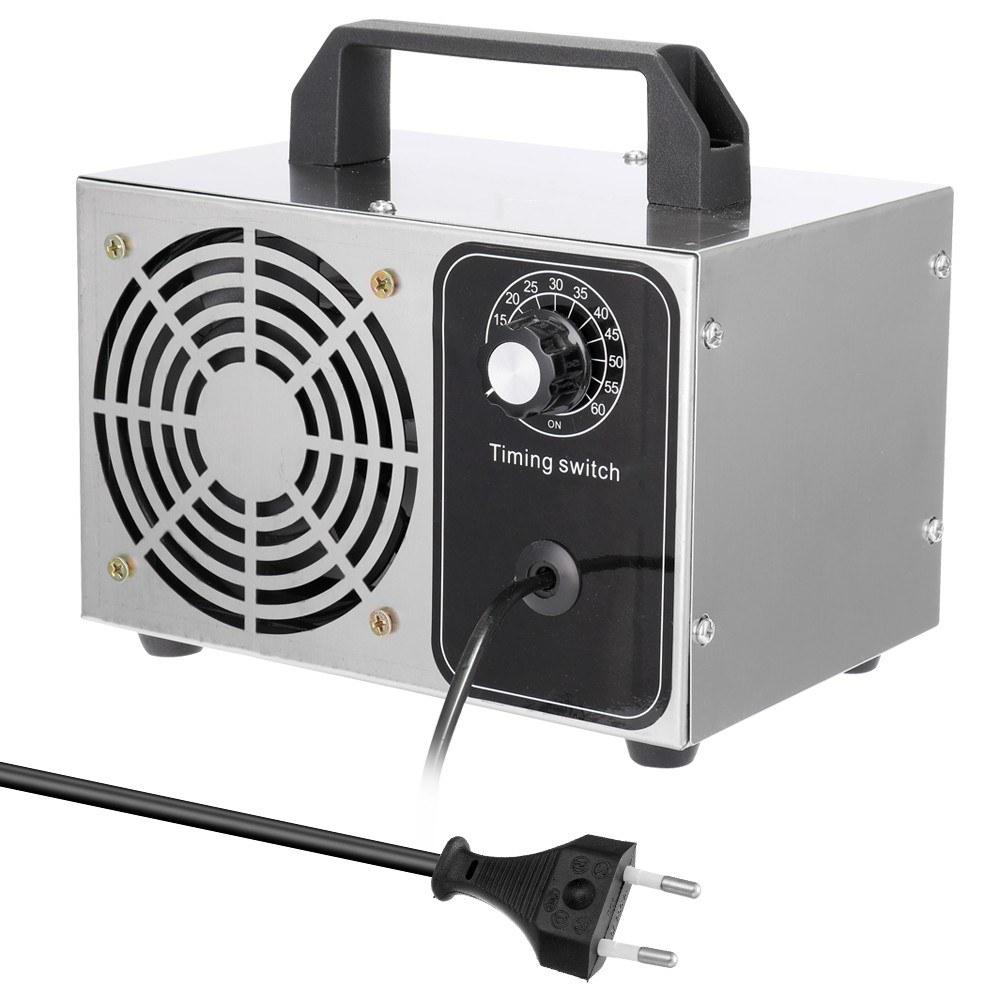 Tomtop - [EU Warehouse] 50% OFF 220V Portable Ozone Generator Machine Air Purifier 32g/h, $39.99 (Inclusive of VAT)