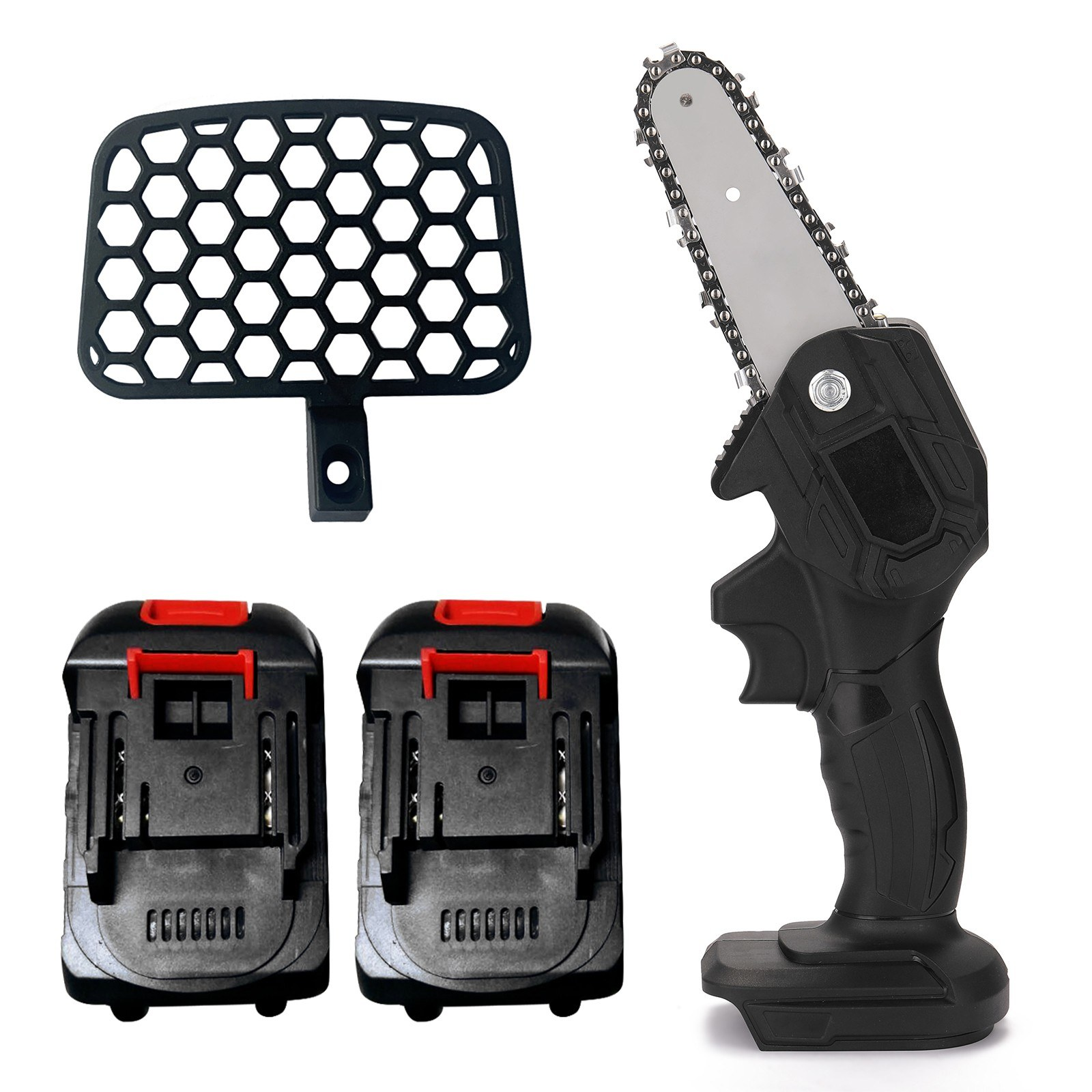 Tomtop - [EU Warehouse] 21V Lithium Battery(Two) Portable Electric Pruning Saw Rechargeable, $39.99 (Inclusive of VAT)