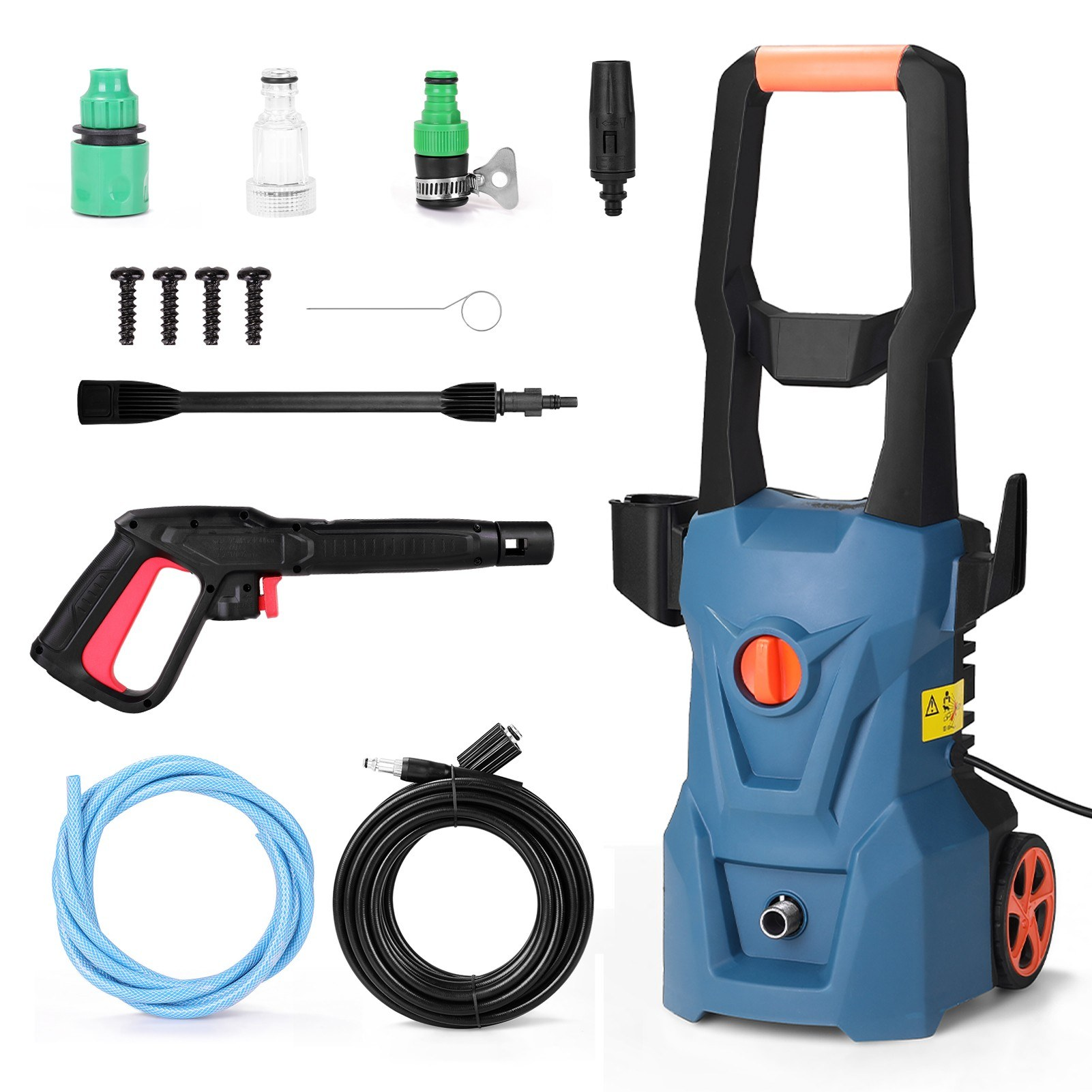 Tomtop - 46% OFF High Pressure Cleaning Machine, Free Shipping $133.99