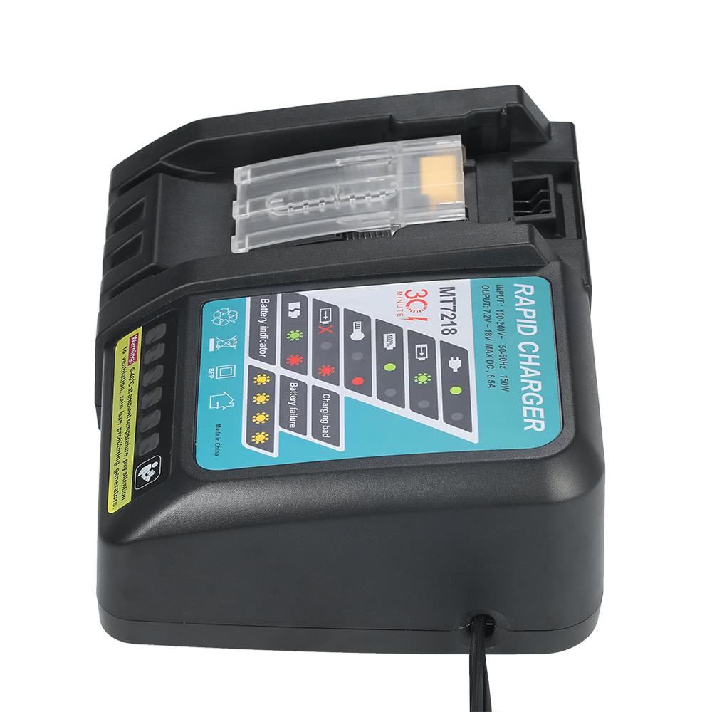 6 5a Rapid Charger Replacement For Makita Dc18rc Dc18ra Bl1830 Bl1815 Bl1840 Bl1850 14 4v 18v Li
