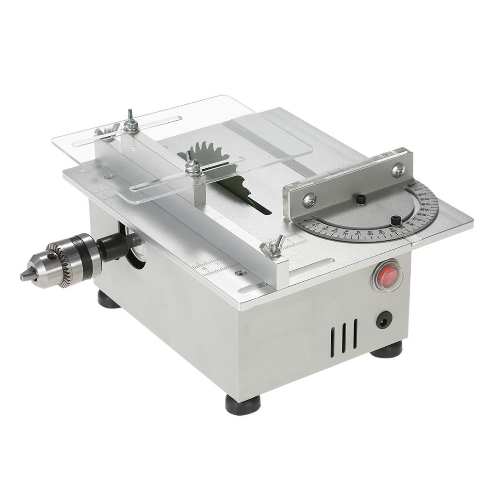 100 watt mini tischkreissäge aluminium miniatur diy multifunktions