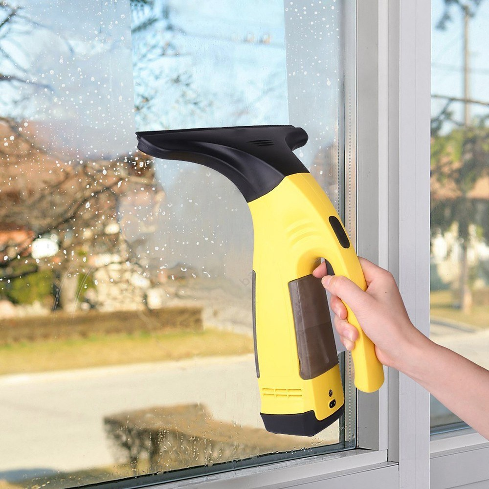 Cordless Window Glass Vacuum Cleaner Handheld Rechargeable Electric Mirror Cleaning Machine