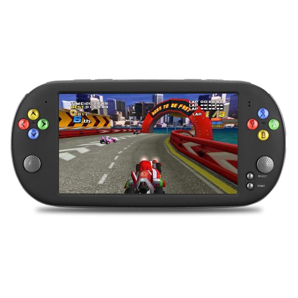 X16 Handheld Game Video Game Console MP4 player with Double Rocker