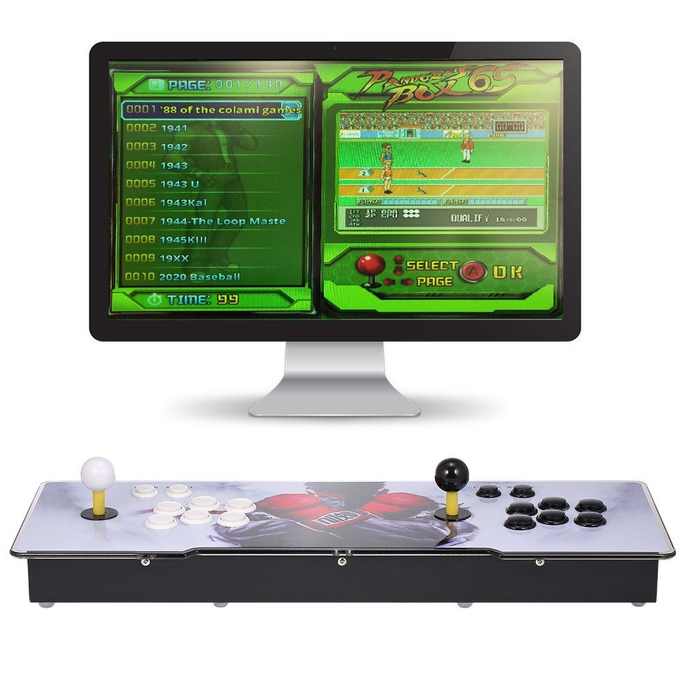 Best 6S 1399 in 1 Arcade Console Joystick US Plug us Sale Online Shopping |  Cafago com