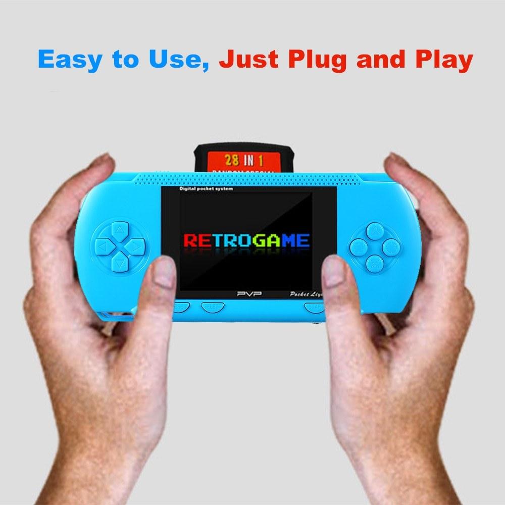 8 Bit Handheld Game Console Portable 3
