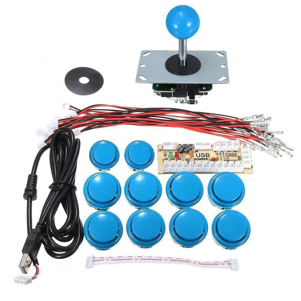 Best DIY Arcade Joystick Zero Delay blue Sale Online Shopping ...
