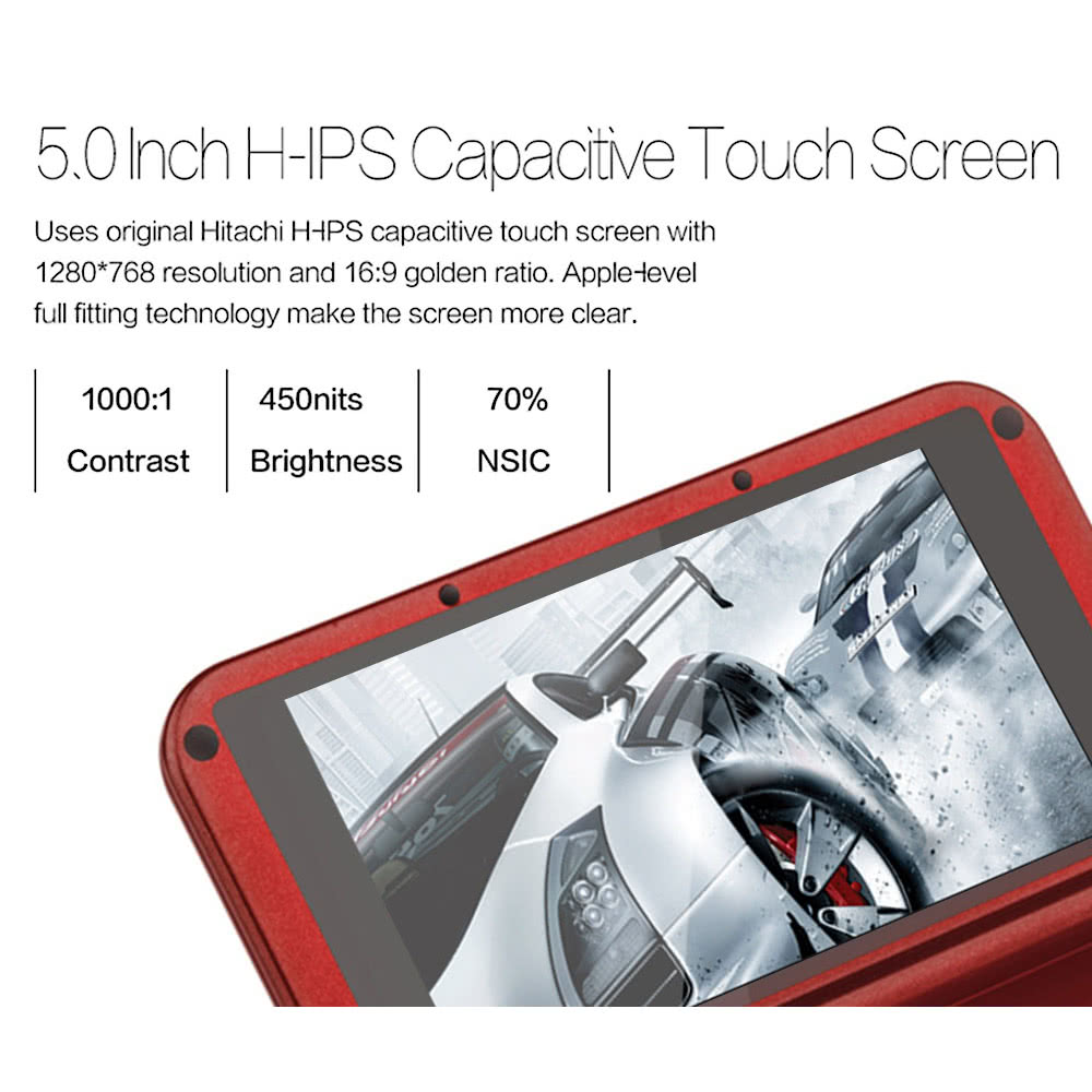 Portable GPD XD Game Console RK3288 Quad Core Android 4 4 64GB 5 Inch 1280  * 720 IPS Capacitive Screen Android Video Gamepad Handheld Console 3D Game