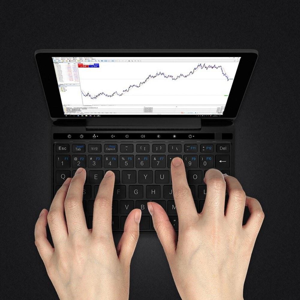 GPD Pocket 2 Amber Black 7 Inches Mini Laptop