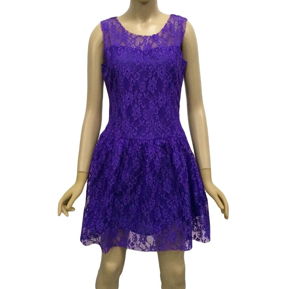 New Fashion Women Dress Lace Ball Gown Sleeveless Slim Elegant ...