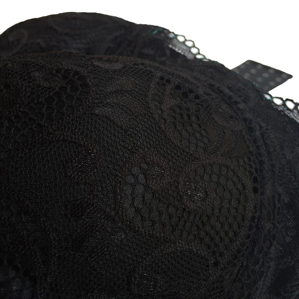 48e8f3a2e Novas mulheres Sexy sutiã laço malha fina completo Copa Plus tamanho  Underwire Bralette cuecas Lingerie